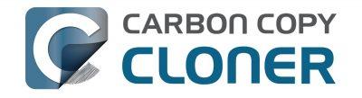 Carbon Copy Cloner