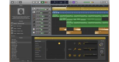GarageBand 10 for the Mac