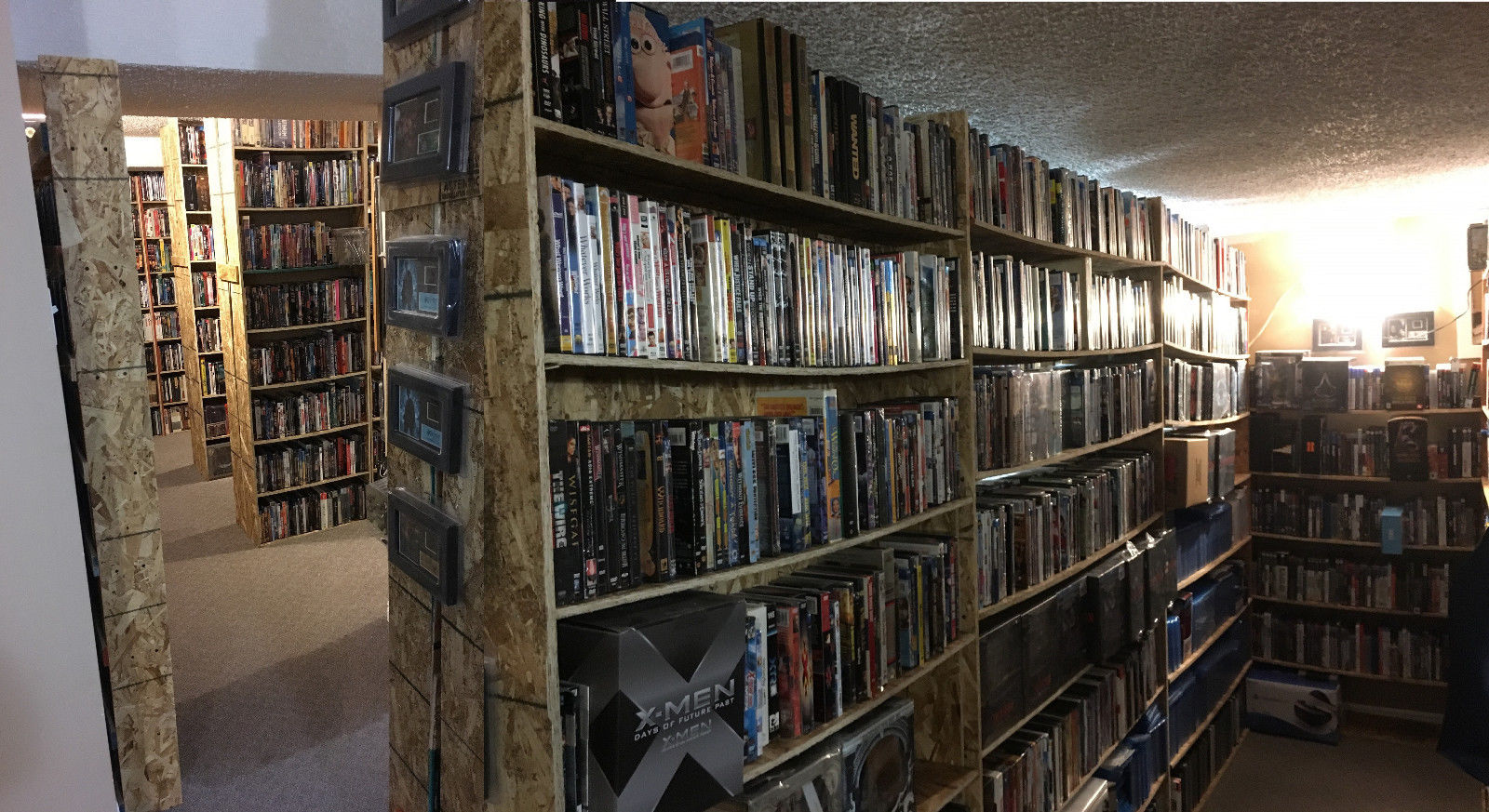 Want to Buy a Giant Library of Blu-rays, DVDs, and Laserdiscs?