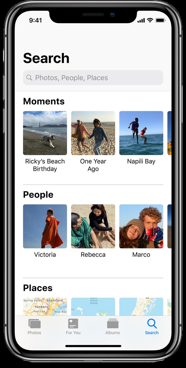 Screenshot of iOS 12 Photos.