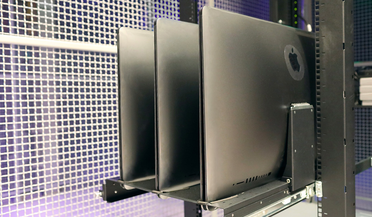 The Awesome Insanity of Rackmounting the iMac Pro