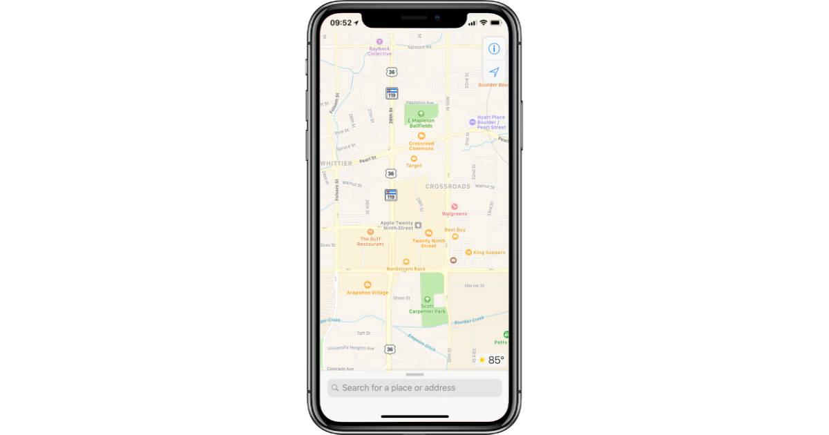 Apple Maps Continues to Gain Detailed Terrain Data