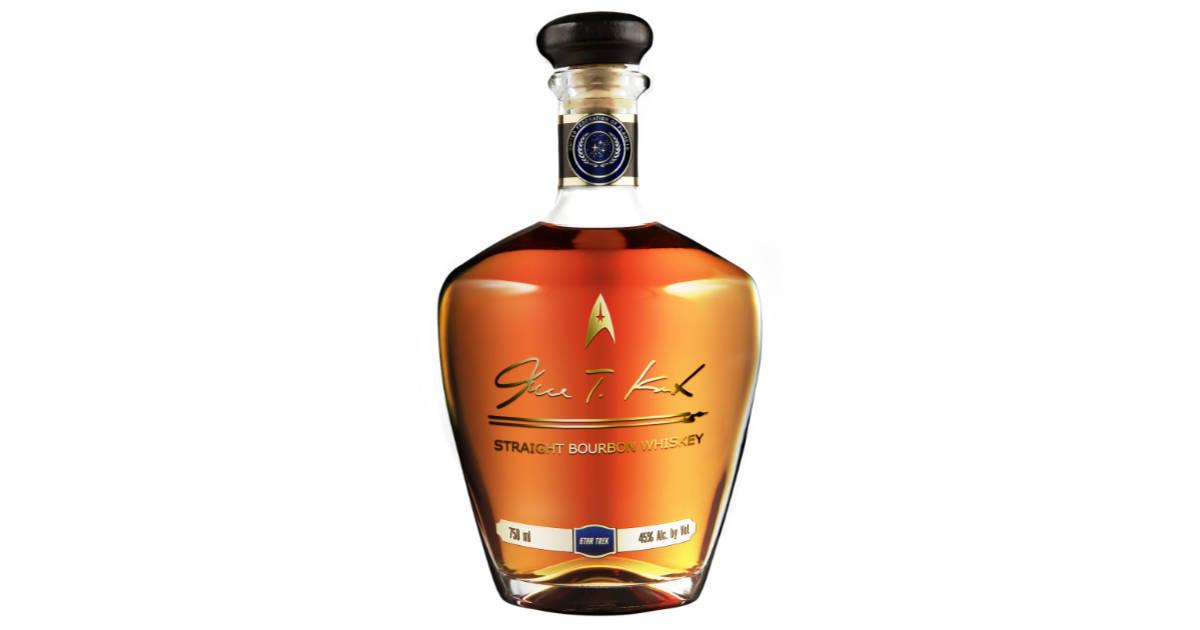Captain Kirk Has His Own Bourbon