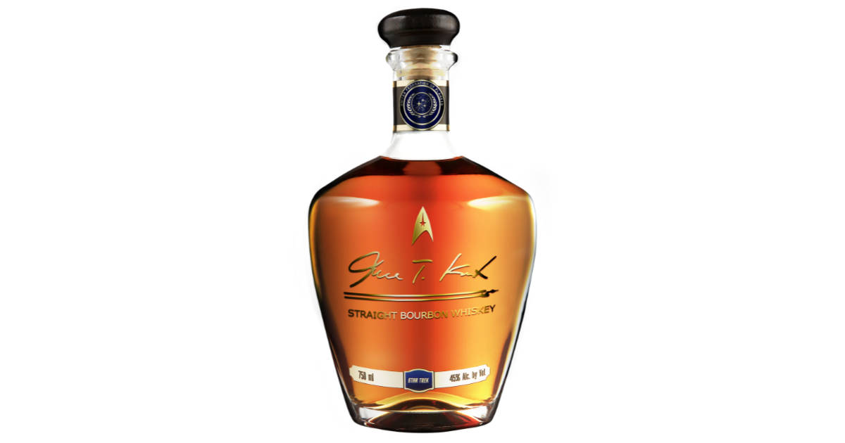 Captain Kirk Has His Own Bourbon