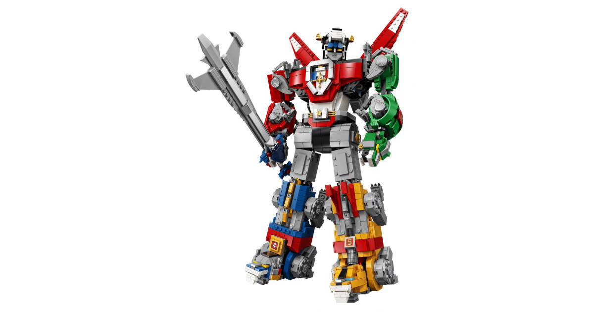 LEGO Voltron Kit Available August 1