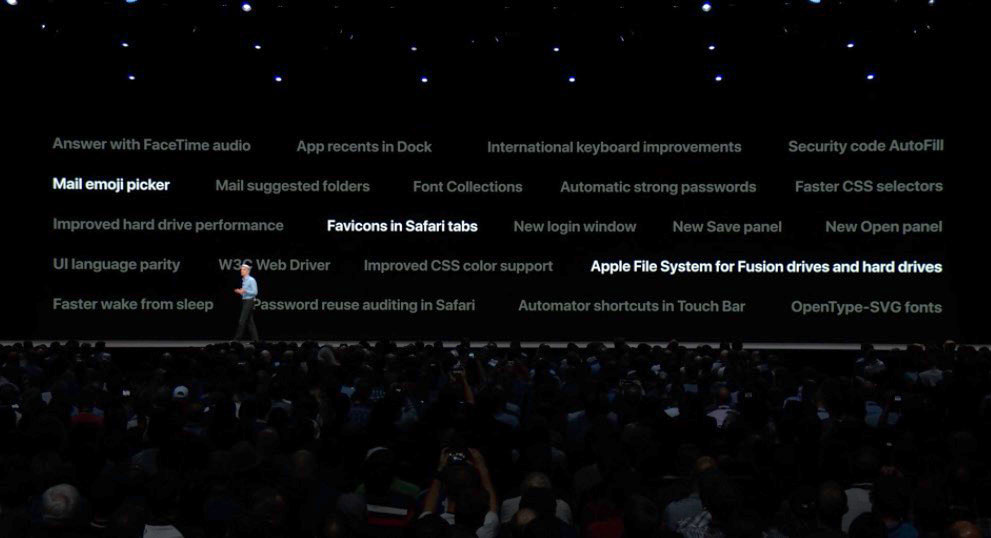 Other new features in macOS Mojave