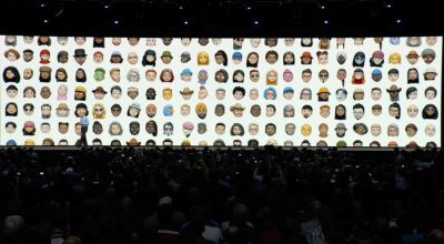 Memojis at WWDC 2018