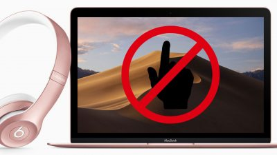 no touchscreen macbook