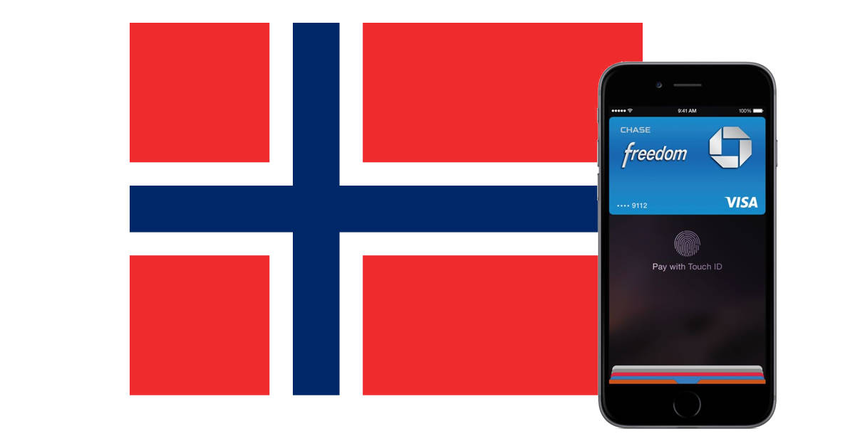 Apple Pay available in Norway