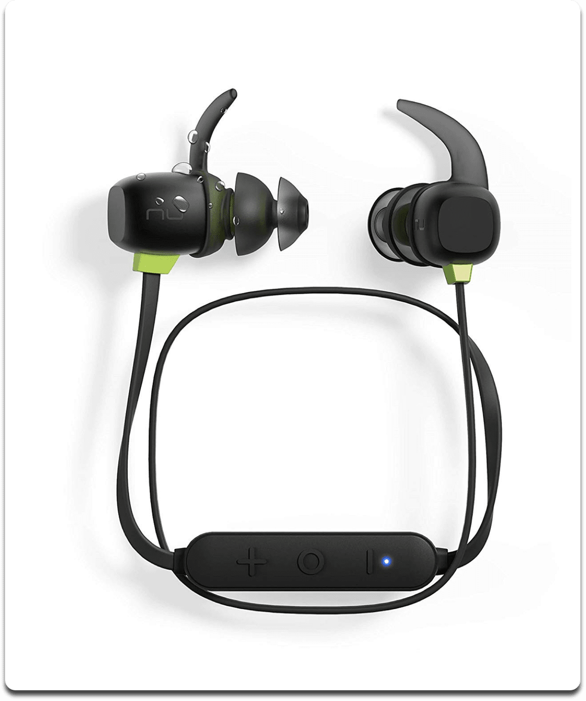 Image of Optoma NuForce sport headphones.