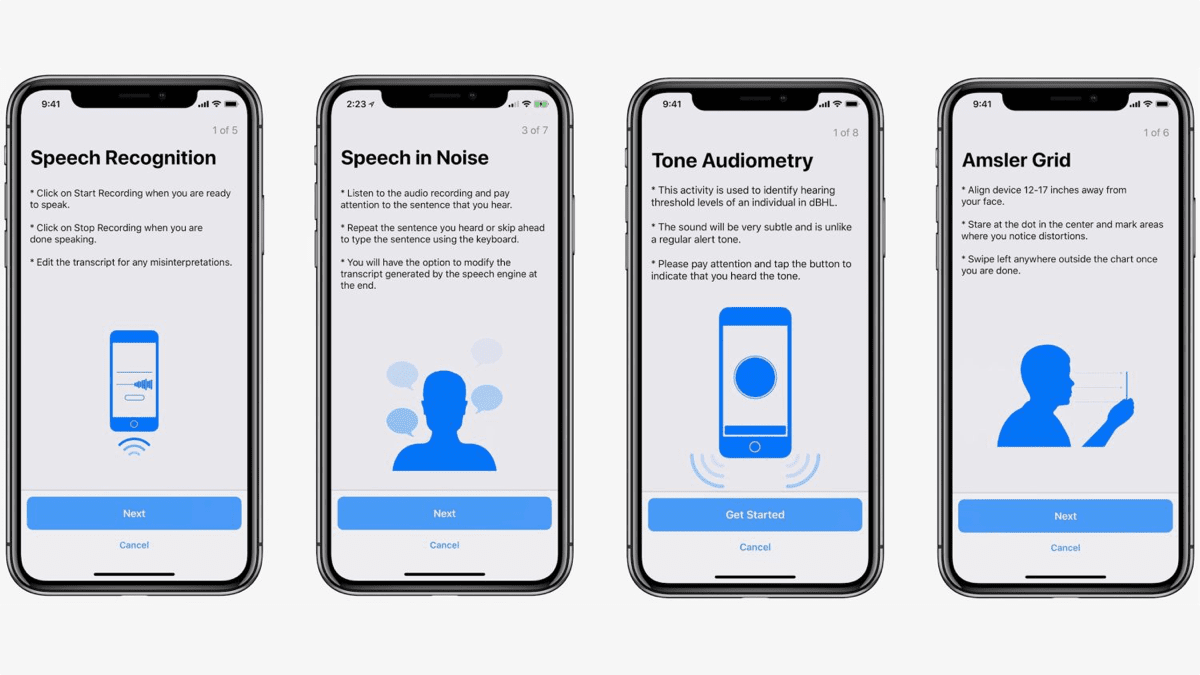 Images of ResearchKit 2.0.