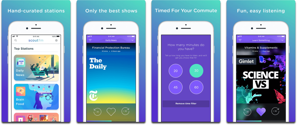 Scout FM Introduces New Features, Like Compatibility with CarPlay