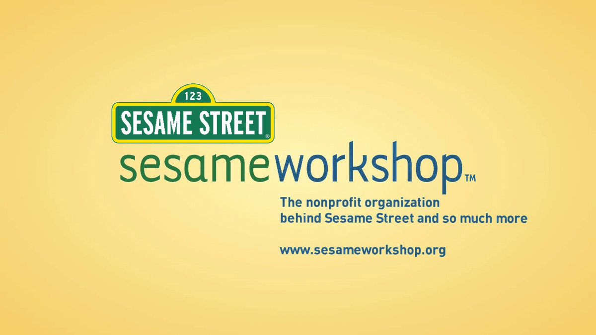 Image of Sesame Workshop banner for Sesame Street.