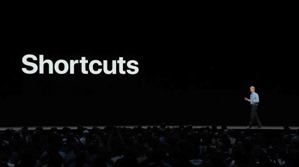 The Silver-Haired King Developer Introducing Siri Shortcuts at WWDC 2018
