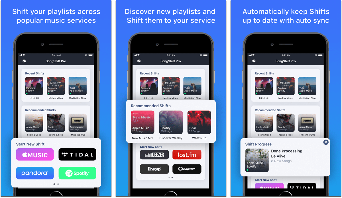 SongShift Lets You Transfer Apple Music Playlists to Other Services