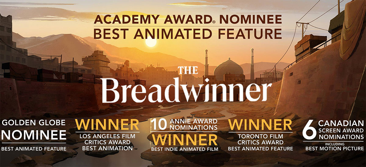 The Breadwinner, the most recent film from Cartoon Saloon
