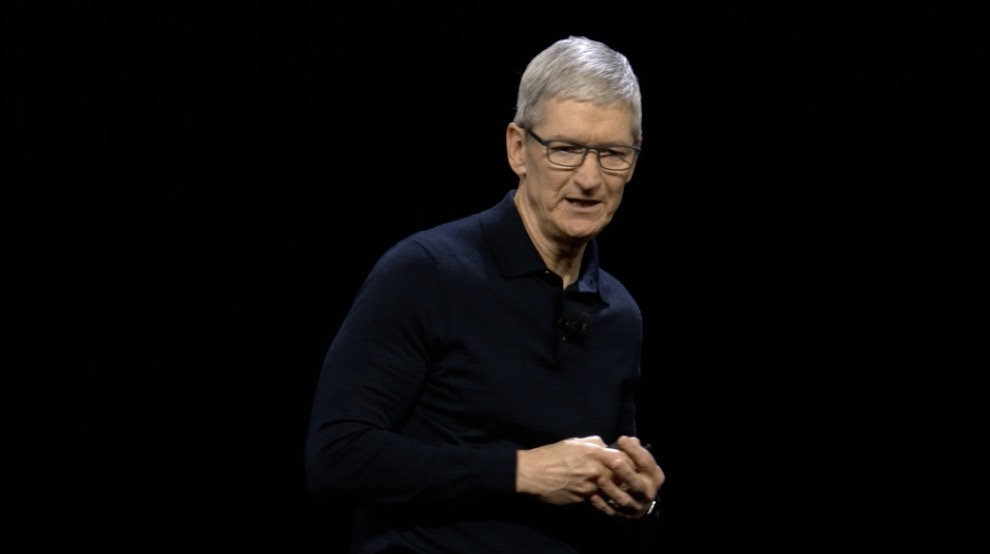 Tim Cook at WWDC 2018