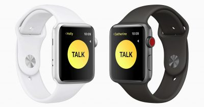 Walkie Talkie App on watchOS 5