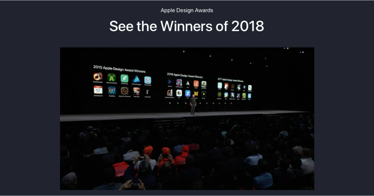 Check Out Apple's WWDC 2018 App Design Award Winners