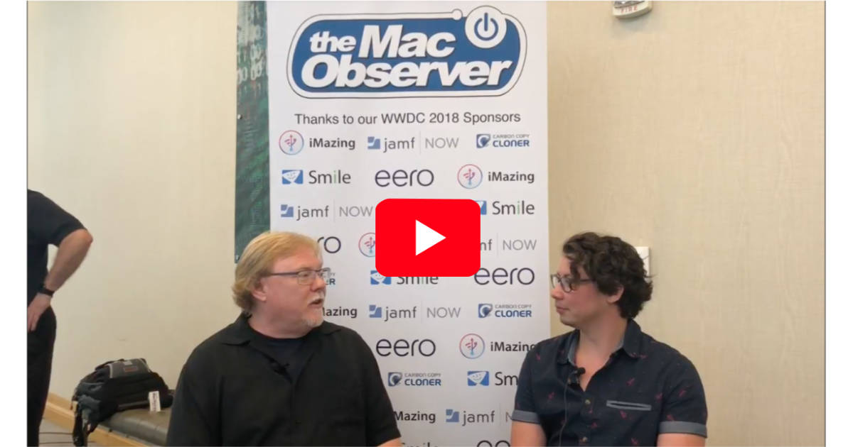 Grey Osten interview at AltConf and WWDC 2018