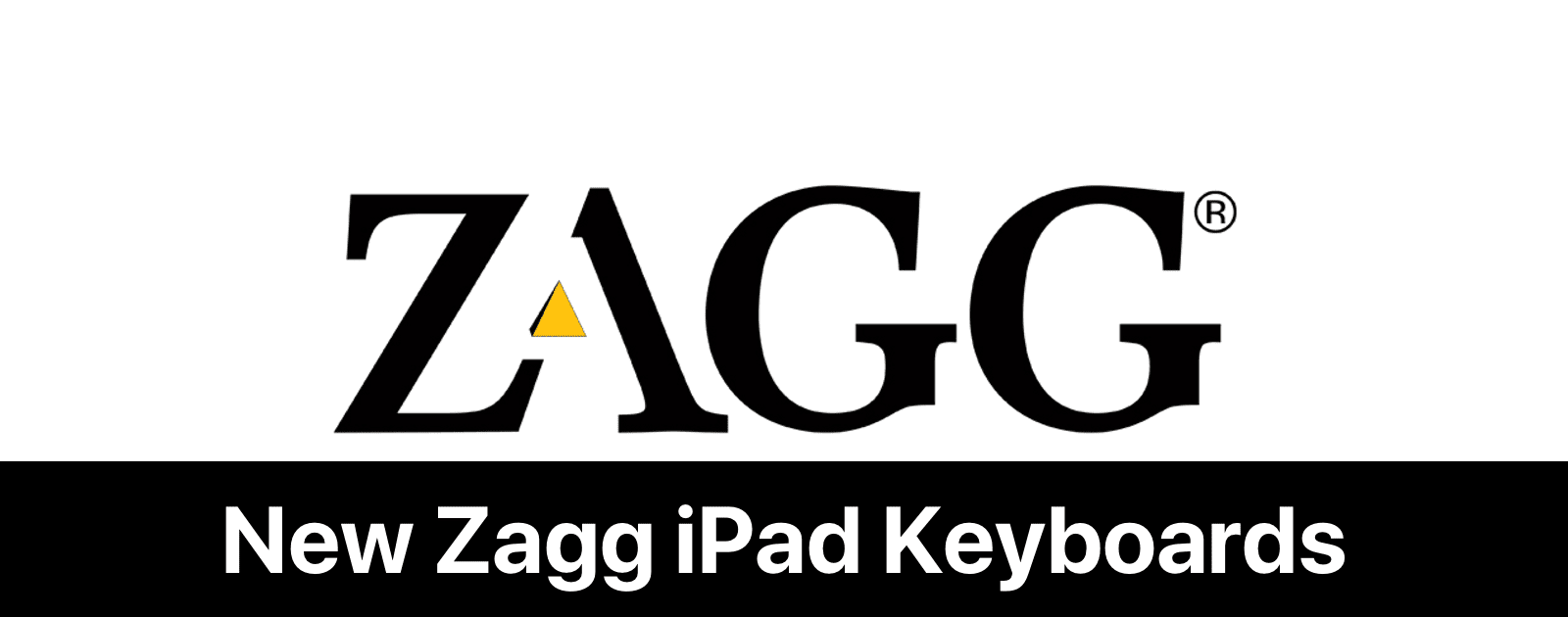 Revealed Two New Zagg Ipad Keyboards With Apple Pencil