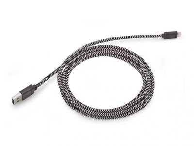 10-Foot Cloth MFi-Certified Lightning Cable