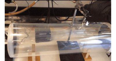 Aerosol nanobots injection chamber.