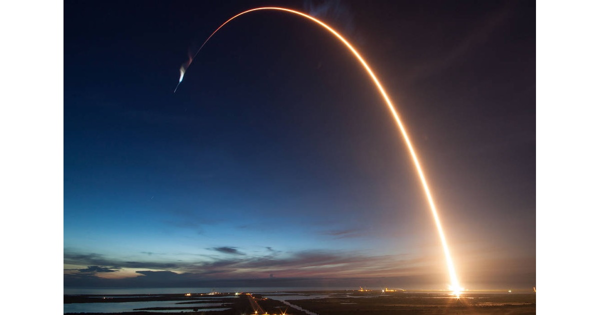 Some Very Cool Space Images – and a Falcon 9 Launch