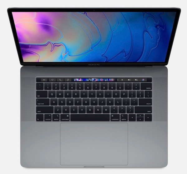 One of the new Macs: Apple's 2018 MacBook Pro.