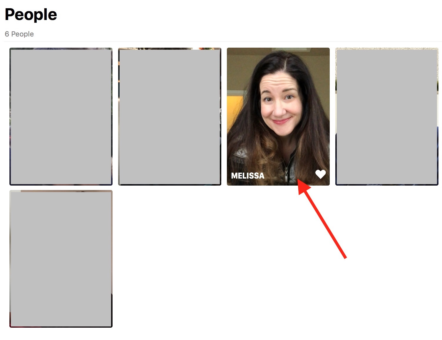 Double-Click on Photo of Person in Photos on Mac to change default key photo