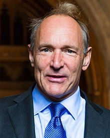 Wikipedia photo of Tim Berners-Lee