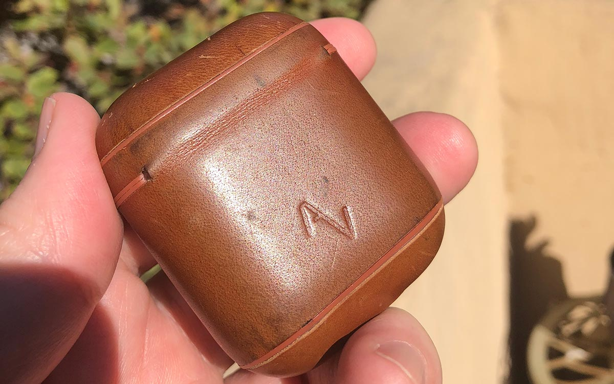 My Leather AirPod Case after Months of Use