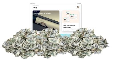 App Store revenue double Google Play's revenue