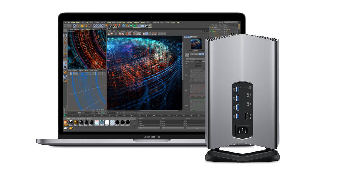 Apple-exclusive Blackmagic eGPU for MacBook Pro