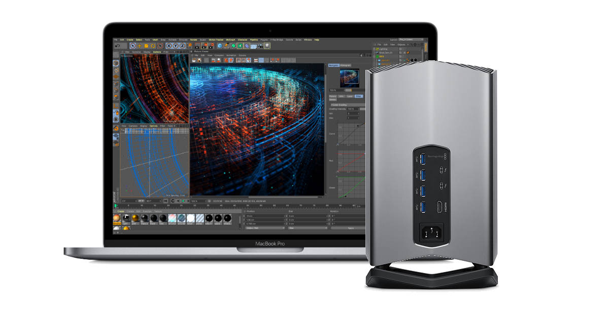 Apple-exclusive Blackmagic eGPU for MacBook Pro