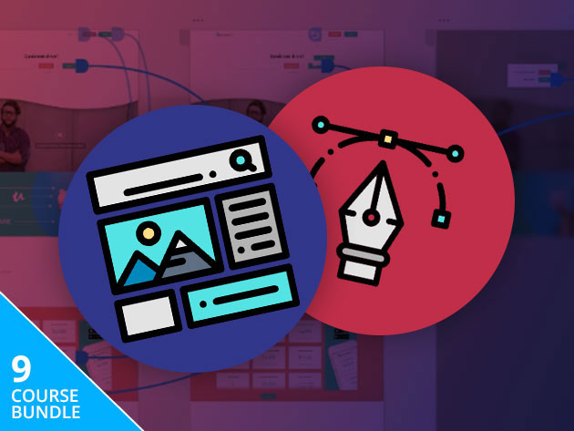 Pay What You Want for the Complete UI/UX Design Tutorial Lifetime Bundle