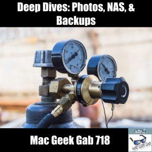 Scuba Tank with Deep Dives Backups Photos NAS MGG 718