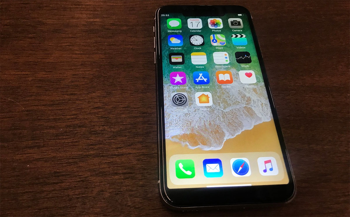 "Believe it or not, this is a fake, $100 ""iPhone X"""