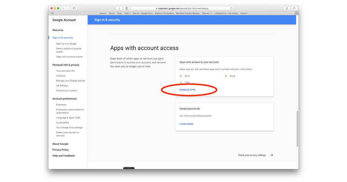 How to Control Which Apps Can Access Your Google Account - The Mac