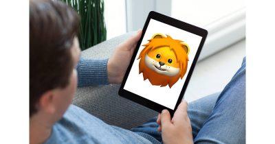 iPad with iOS 12, TrueDepth camera and Animoji