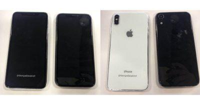 iPhone 2018 leaked photo showing dummy model