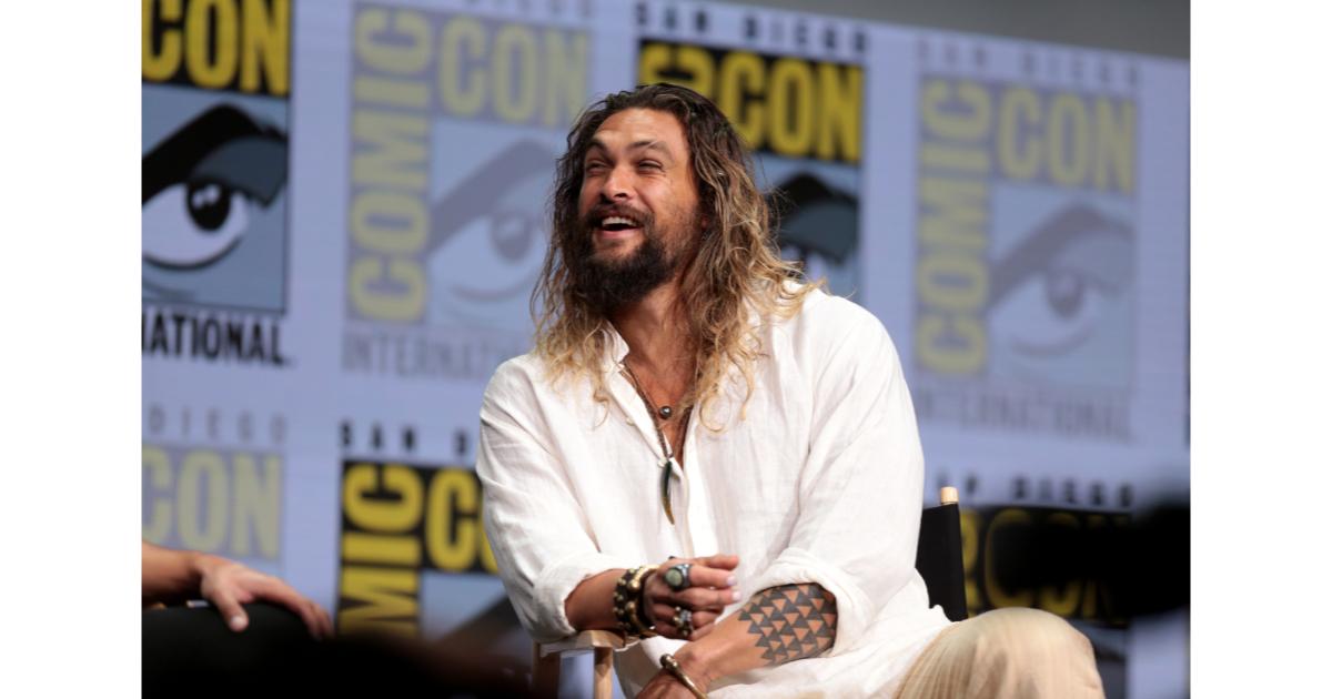 Jason Momoa at Comic Con