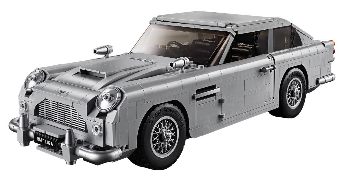 LEGO James Bond Aston Martin DB5: Shut Up and Take My Money