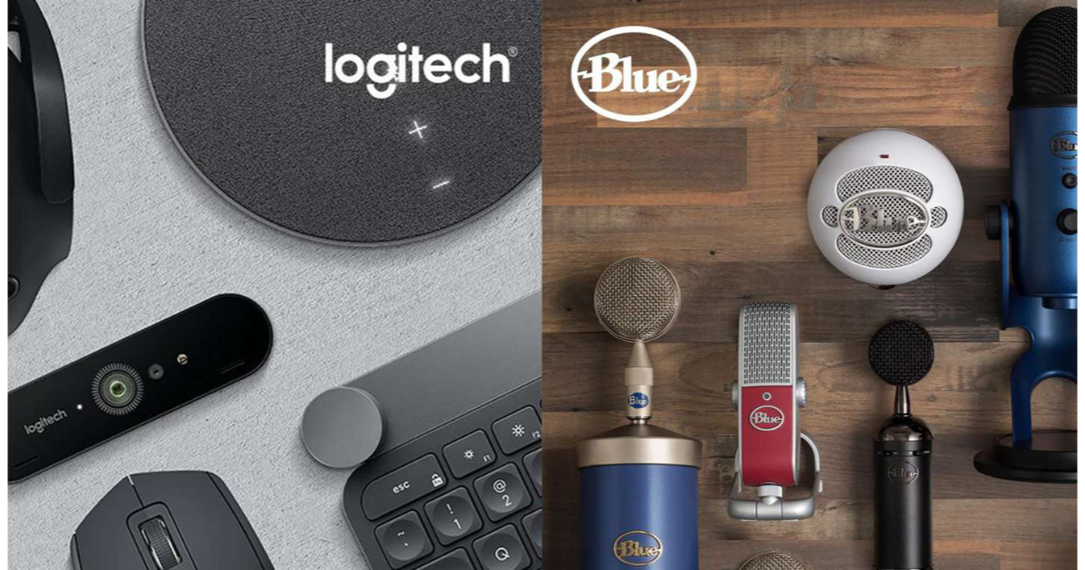 Logitech buying microphone and audio gear maker Blue