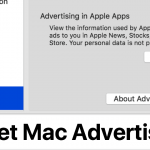 macOS Mojave: How to Reset the Mac Advertising Identifier