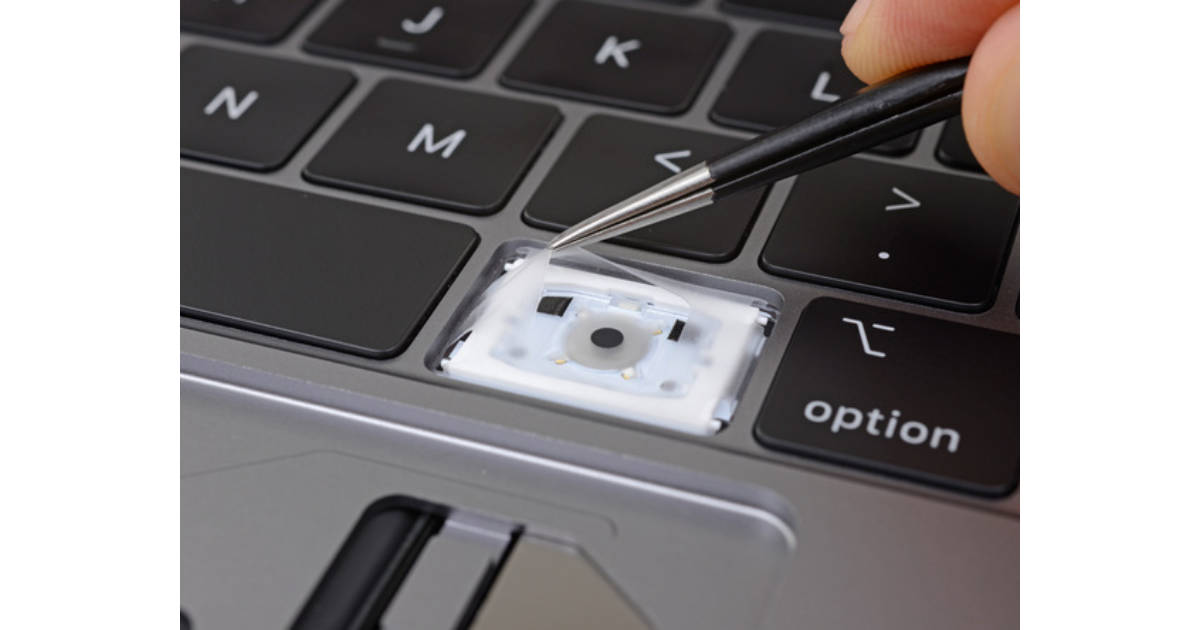 Apple Internal Document Says New MacBook Keyboard Membranes Are About Debris