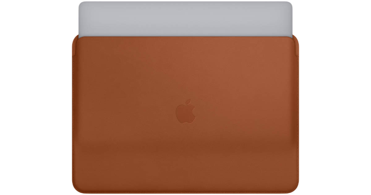 Apple MacBook Pro leather sleeve