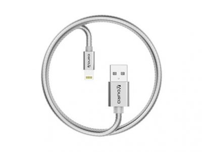 Metallic Spring 3-Ft. MFi-Certified Lightning Cable