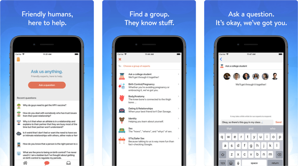 This App Lets You Ask Questions of Experts