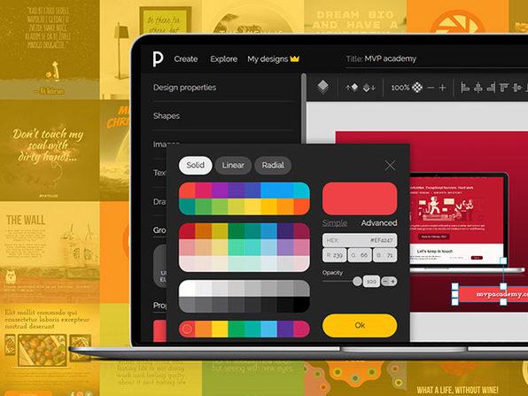 PixTeller Pro Online Design Tool 1-Year Subscription: $19.99